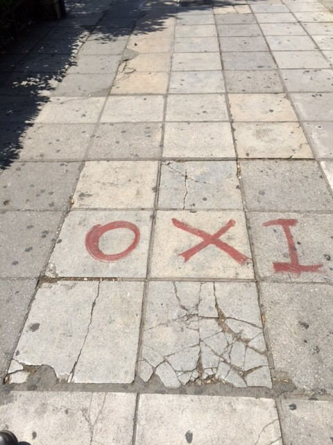 street saloniki oxi